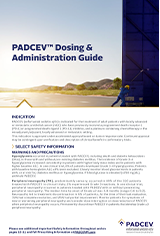 Download PADCEV dosing and administration guide